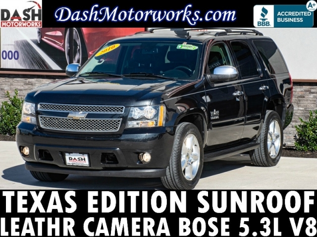 2010 Chevrolet Tahoe LT Leather Camera Sunroof Bose 7-Pass
