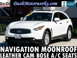 Infiniti FX35 Navigation Sunroof Camera Leather Bose Cooled 2011