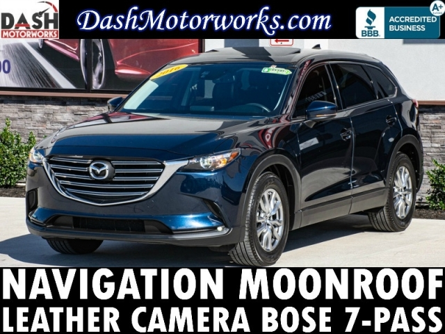 2016 Mazda CX-9 Touring Navigation Camera Bose Sunroof Leathe