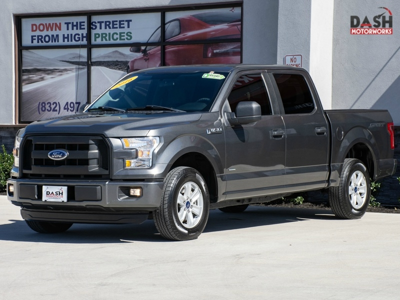Ford F-150 XL SuperCrew Sport EcoBoost Camera Alloys Be 2016 price $21,995