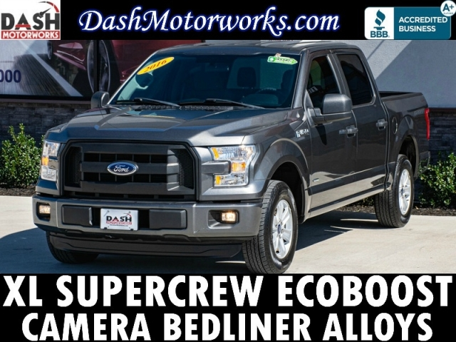 2016 Ford F-150 XL SuperCrew Sport EcoBoost Camera Alloys Be