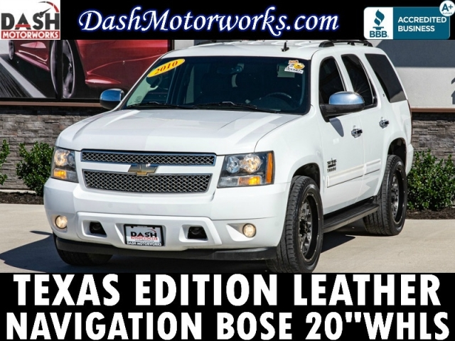 2010 Chevrolet Tahoe LT Leather Bose 20in Wheels 8-Pass