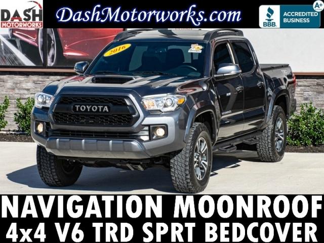 2016 Toyota Tacoma Double Cab V6 TRD 4x4 Navigation Moonroof B