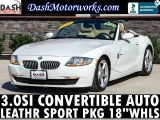 BMW Z4 3.0SI Coupe Convertible Sport Leather Spoiler P 2008