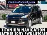 Ford Escape Titanium Navigation Leather Sony Pwr Liftga 2013