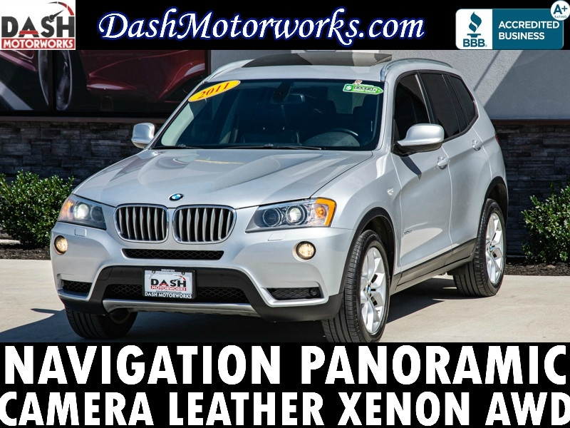 BMW xDrive35i Navigation Panoramic Camera Leather Xeno 2011 price $10,500