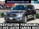 Infiniti QX60 Navigation Panoramic 2-DVD Camera Bose Leathe 2014