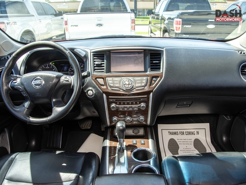 Nissan Pathfinder SL Navigation Camera Bose Leather 2014 price $10,995