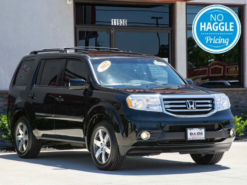 Honda Pilot Touring Navigation DVD Camera Sunroof Leathe 2012 price $13,995