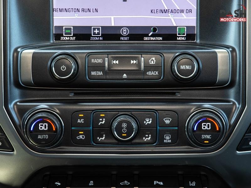 Chevrolet Silverado 1500 LTZ Crew Cab 4WD 6.2L V8 Navigation 2015 price $23,995