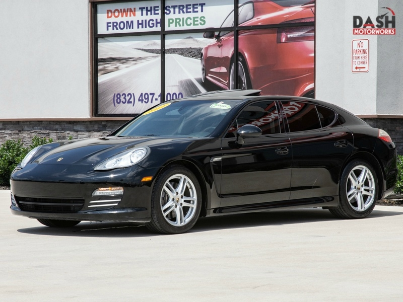 Porsche Panamera 4 Navigation Leather Sunroof Bose Xenons 2011 price $16,985
