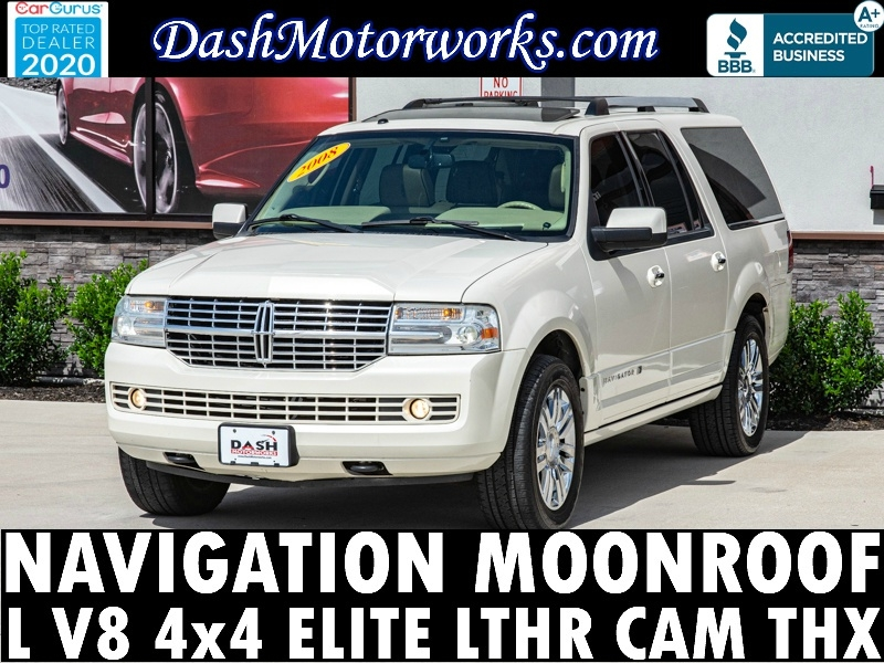 Lincoln Navigator L 4WD Elite Navigation Camera THX Leathe 2008 price $11,985
