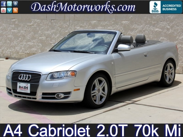2007 Audi A4 Cabriolet Cvt 20t Houston Best Used Cars Inventory