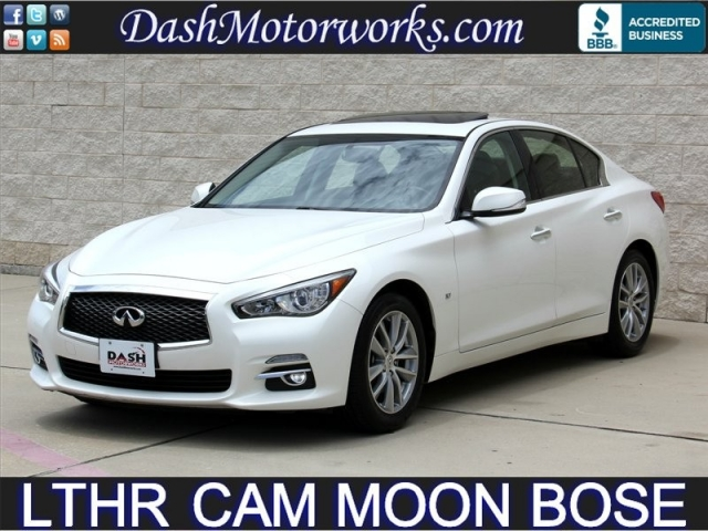 2014 Infiniti Q50 Premium Leather Moonroof Bose