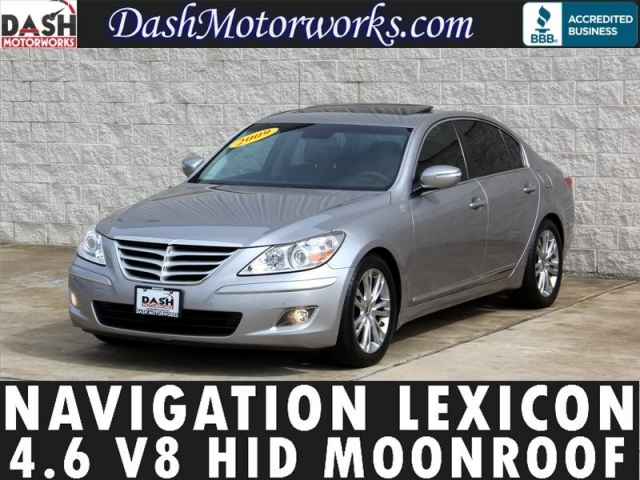 2009 Hyundai Genesis V8 Navigation Lexicon Camera Moonroof