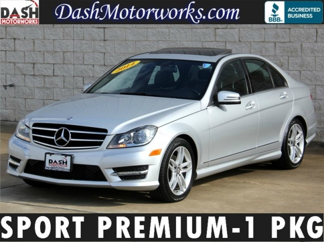 2014 Mercedes-Benz C250 Sport Sedan Premium-1 Package