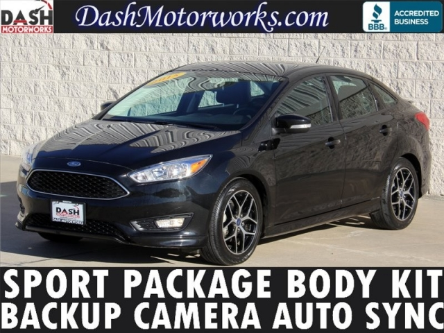 2015 ford focus se sedan sport package backup camera automatic body