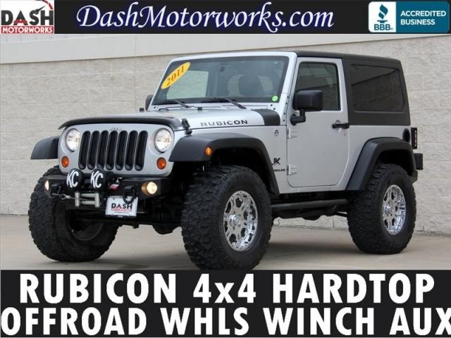 2011 Jeep Wrangler Rubicon 4x4 Auto Hardtop Infinity Winch O