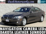 BMW 528i Navigation Camera Moonroof Xenons Leather 2012