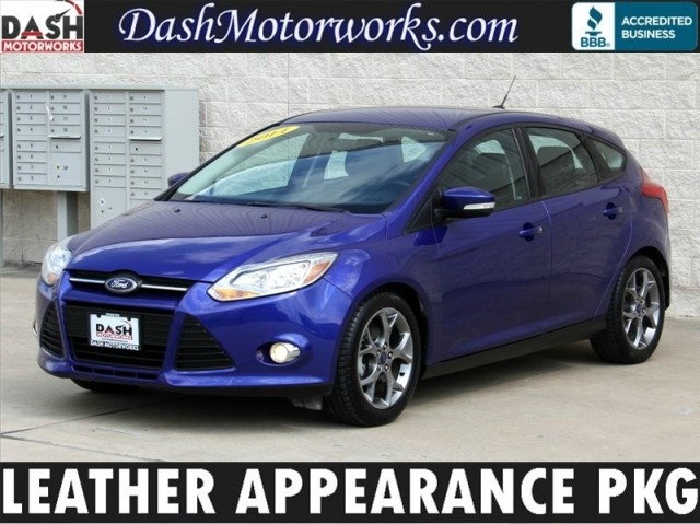 2014 Ford Focus Hatchback Leather Appearance Package Auto