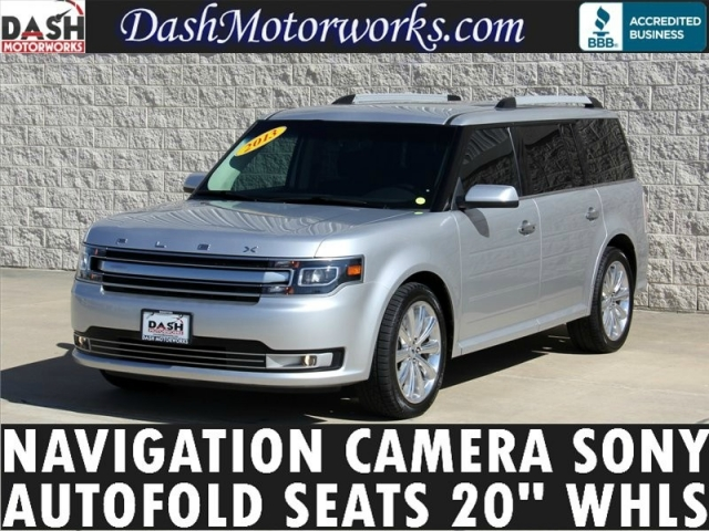 2013 Ford Flex Limited Navigation Camera Leather 2nd-Row Aut