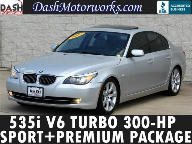 2010 BMW 535i Sport Premium Leather Moonroof Xenons