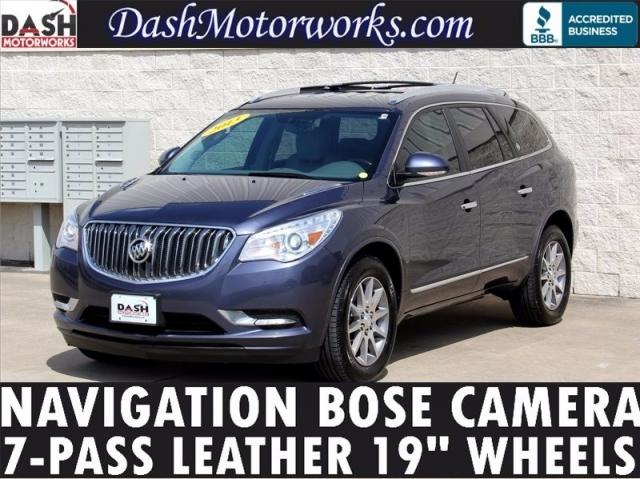 2013 Buick Enclave Navigation Bose Leather Camera