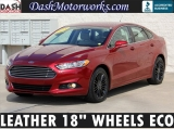 Ford Fusion SE EcoBoost Leather 18 Wheels Park Assist 2014