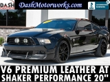 Ford Mustang V6 Premium Pony Leather Shaker Auto 2013