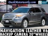 Ford Explorer Navigation Camera Leather 20 Wheels 2012