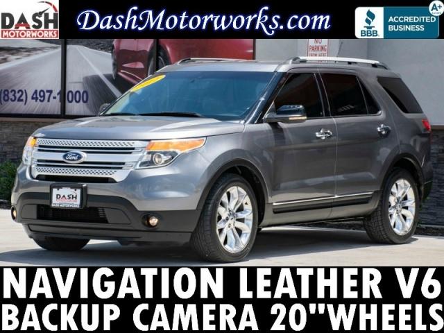 2012 Ford Explorer Navigation Camera Leather 20 Wheels