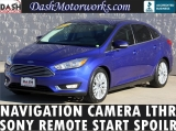 Ford Focus Titanium Navigation Camera Leather Sony 2015