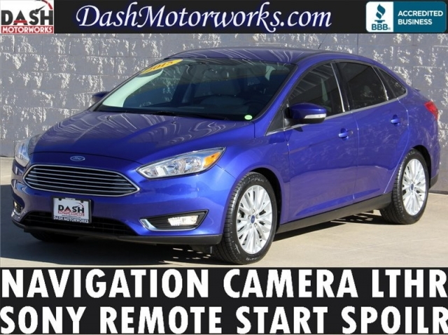 2015 Ford Focus Titanium Navigation Camera Leather Sony