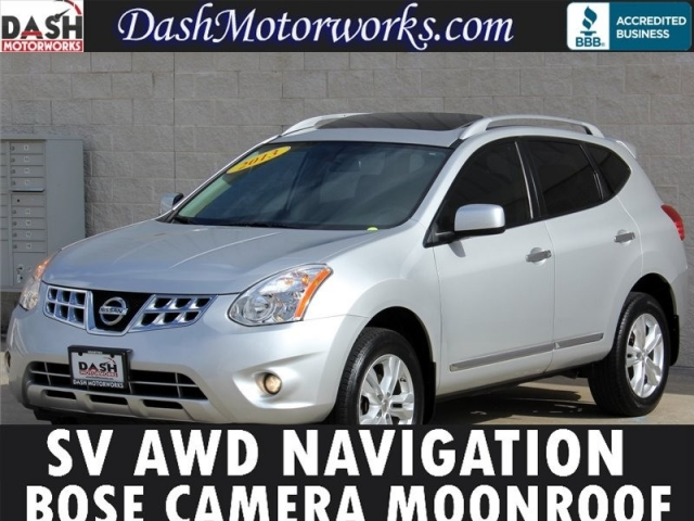 2013 Nissan Rogue SV AWD Navigation Moonroof