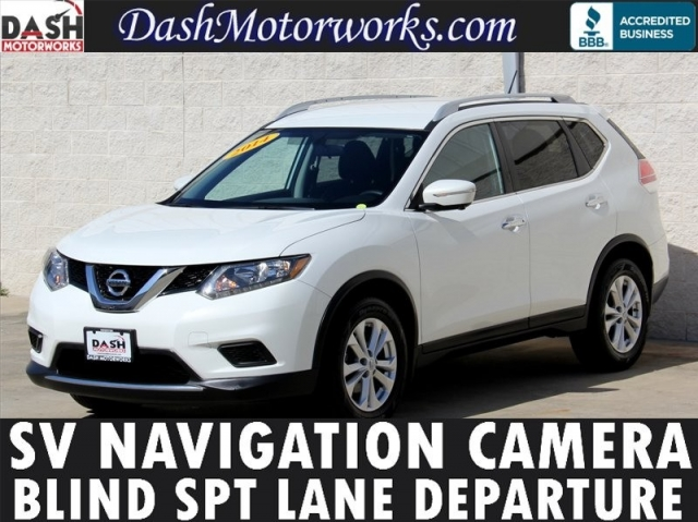 2014 Nissan Rogue SV Navigation Camera Premium Package