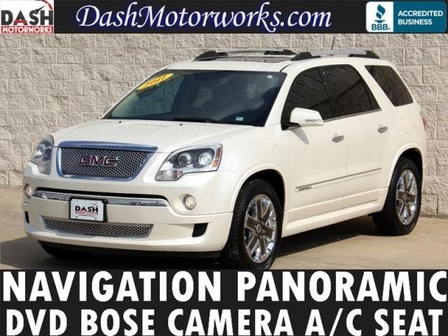 2011 GMC Denali Navigation Panoramic DVD Camera Bose