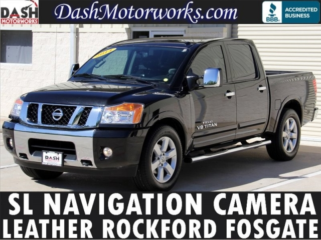 2014 Nissan Titan SL Navigation Leather Crew Cab