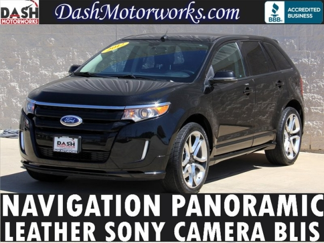 2012 Ford Edge Sport Panoramic Navigation Leather Camera