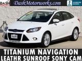 Ford Focus Titanium Navigation Moonroof Leather 2014