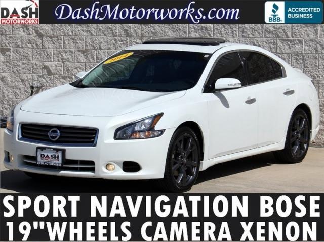 2014 Nissan Maxima SV Sport Navigation Bose Camera Xenons