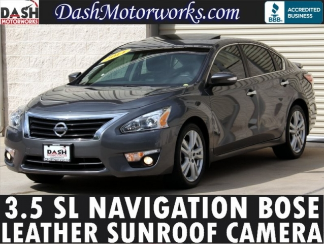 2014 Nissan Altima 3.5 SL V6 Navigation Moonroof Bose Leather