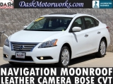 Nissan Sentra SL Navigation Leather Moonroof Bose 2014