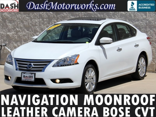 2014 Nissan Sentra SL Navigation Leather Moonroof Bose