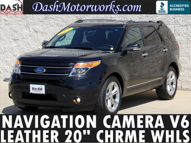 2014 Ford Explorer Limited Navigation Camera Leather 7-Pass