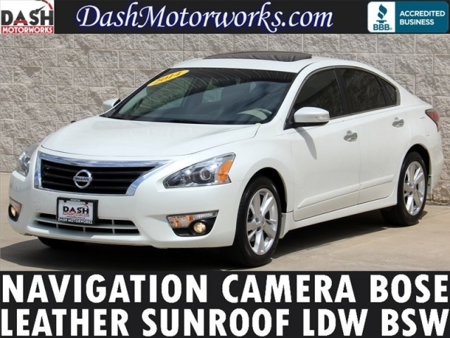 2014 Nissan Altima SL Navigation Bose Moonroof Leather