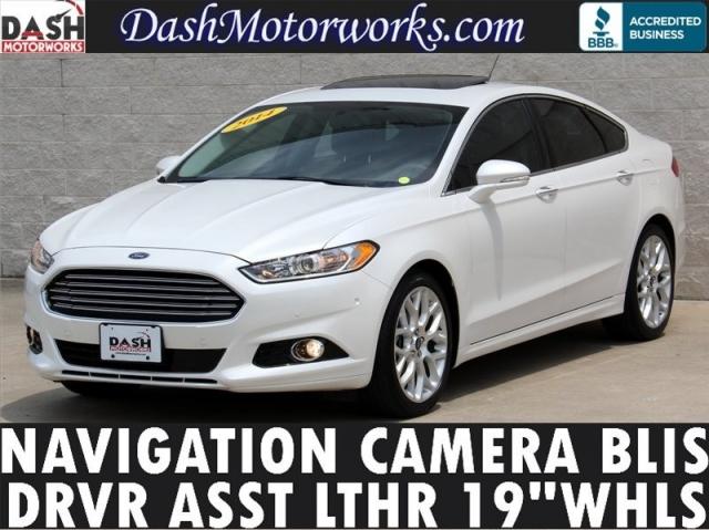 2014 Ford Fusion Titanium Navigation Moonroof Driver Asst