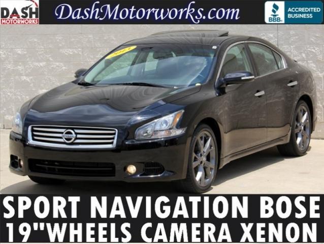 2013 Nissan Maxima SV Sport Navigation Bose Camera Xenons