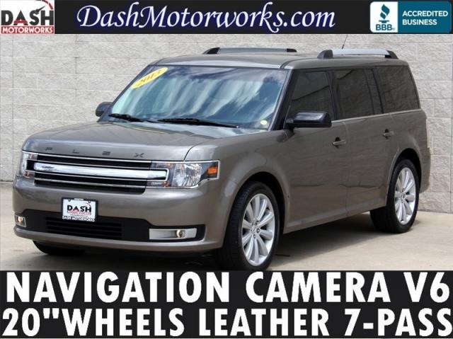 2013 Ford Flex Navigation Camera Leather