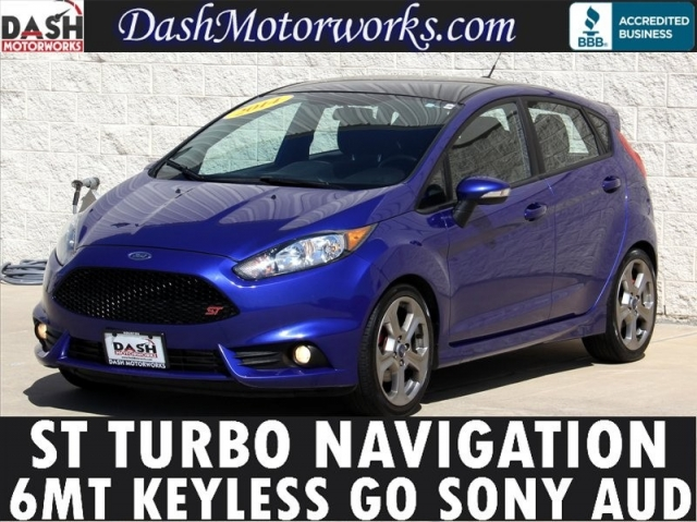 2014 Ford Fiesta ST Navigation Sony 6MT