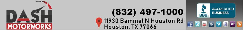 DASH MOTORWORKS. (832) 497-1000